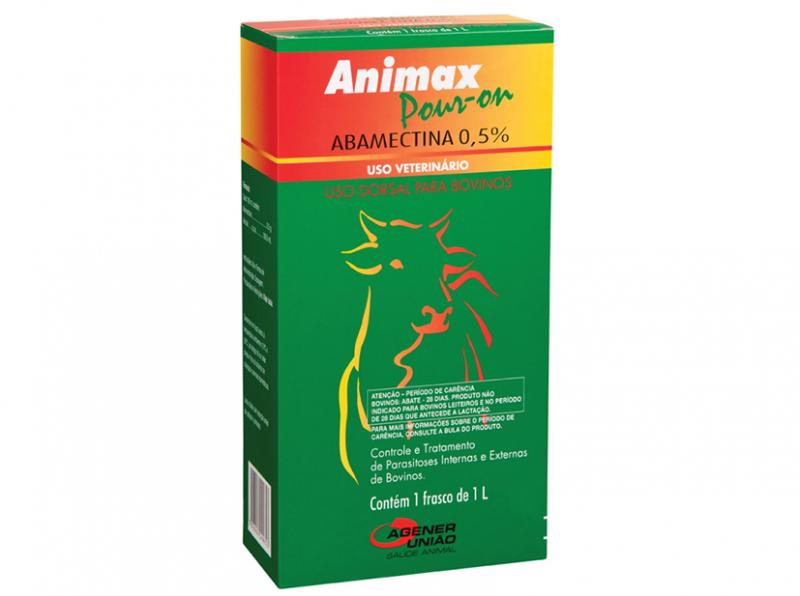 ANIMAX ABAMECTINA 0,5% POUR ON 1L - AGENER